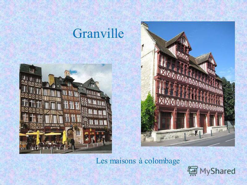 Les maisons à colombage Granville