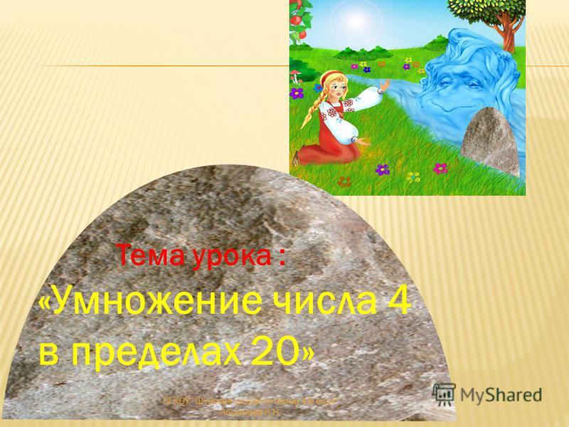3×6 3×8 3×10 2×8 8+7 2×6 2×4 24 30 8 12 16 ОГКОУ Шуйская школа-интернат VIII вида Абрамова Л.Н.