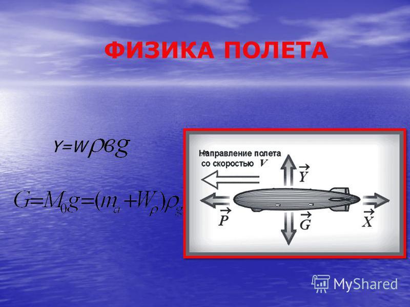 ФИЗИКА ПОЛЕТА Y=W