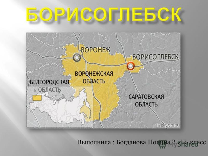 Выполнила : Богданова Полина 2 « Б » класс