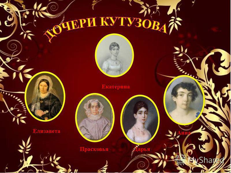 Елизавета Прасковья Дарья Анна Екатерина