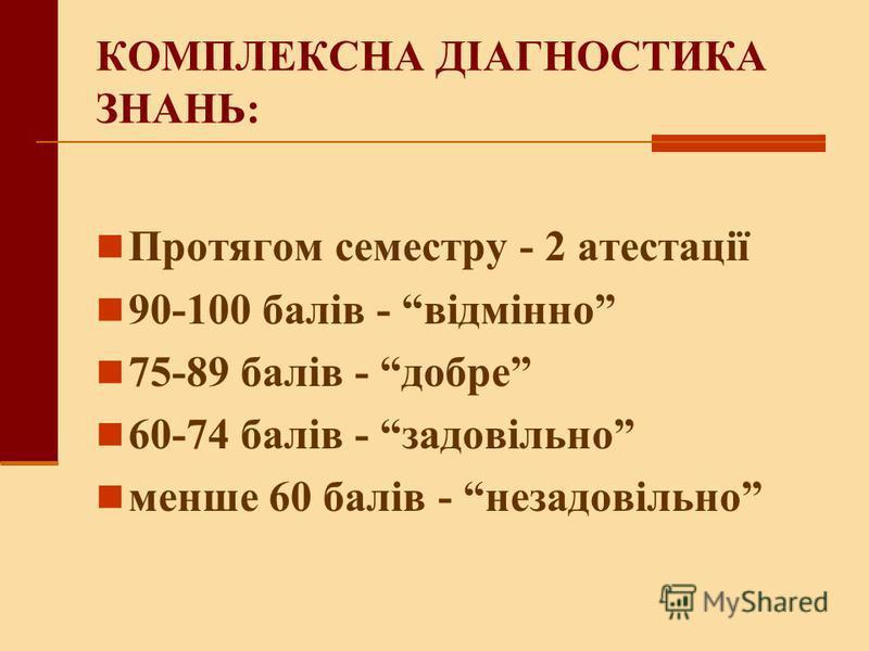 СТРУКТУРА ДИСЦИПЛІНИ: ЛЕКЦІЙ 14 ГОДИН ПРАКТИЧНИХ 26 ГОДИН САМОСТІЙНА РОБОТА 68 ГОДИН ВСЬОГО 108 ГОДИН