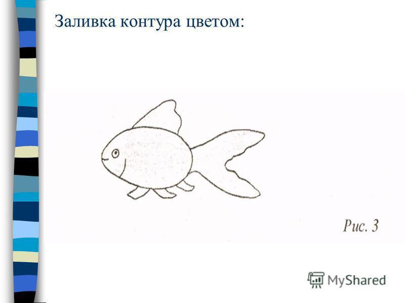 Выполнение карандашного наброска: