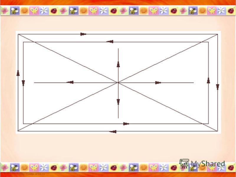 «Видеоазимут» Ковалева В. А. Движение по заданным траекториям: Оббежать только взором, не двигая головой, красный прямоугольник. Оббежать взором зеленый прямоугольник. Оббежать взором диагональ из угла в угол. Поочередно каждую. Вертикаль и горизонта
