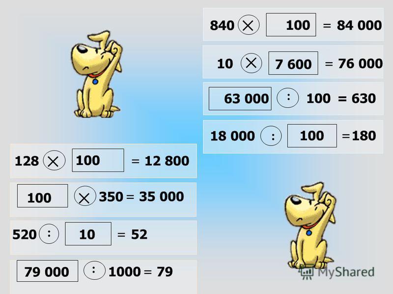 Самостоятельно: 10,11 из рабочей тетради. Прочитайте внимательно. Письменно надо выполнять только те задания, в которых говорится запишите. Проверка (фронтально). Итог работы – правила умножения и деления числа на 10, 100, 1000 и т.д.