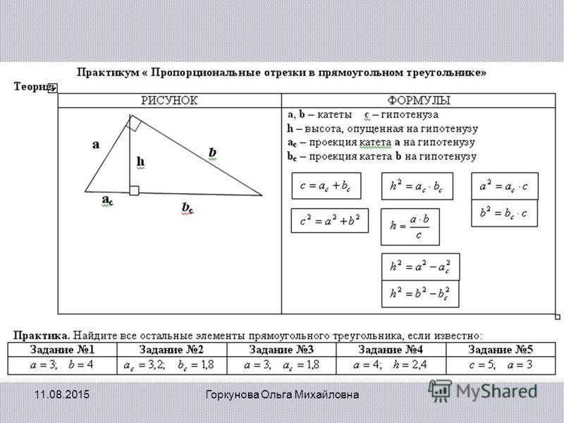 11.08.2015Горкунова Ольга Михайловна