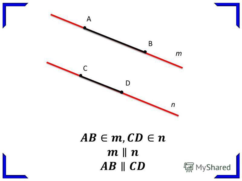 A B C D m n