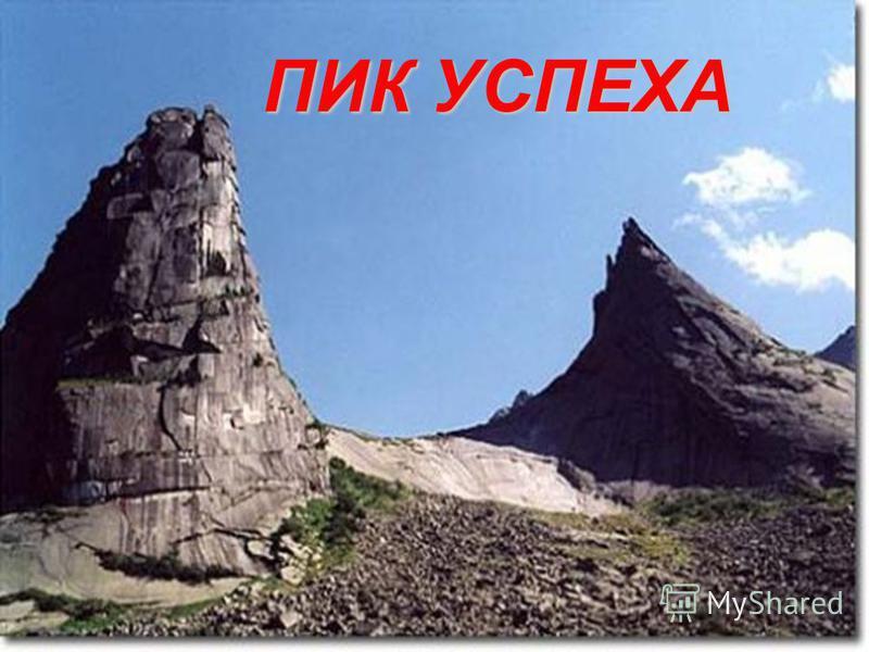 ПИК УСПЕХА