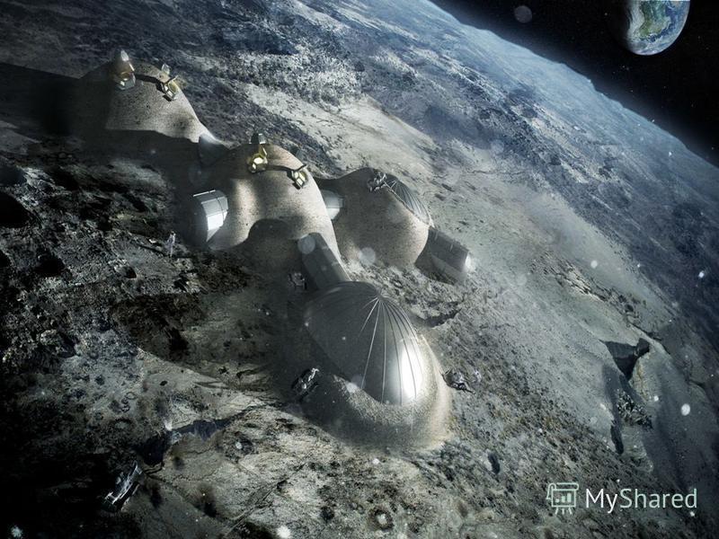 Освоение космоса Масштабной задачей индустриализации космоса является разработка в перспективе природных ресурсов Луны. Исследования лунного грунта с помощью автоматических и пилотируемых аппаратов показали, что недра Луны богаты железом, алюминием,