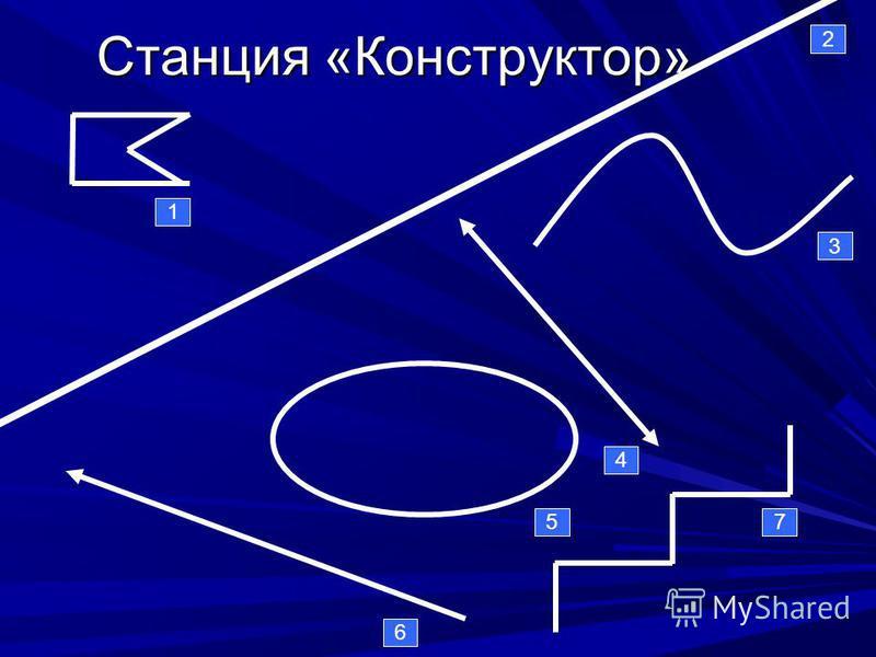 Станция «Конструктор» 1 2 3 4 5 6 7