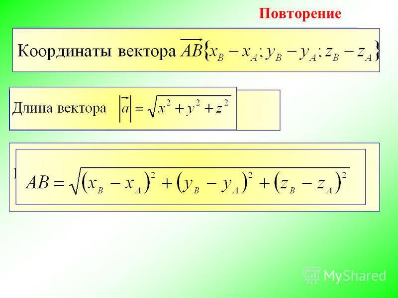 Как найти расстояние между двумя точками
