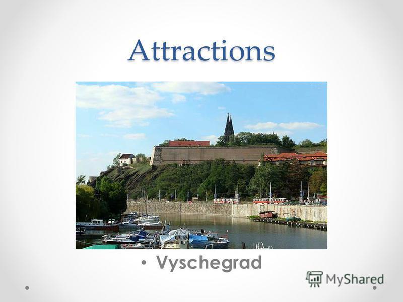 Attractions Vyschegrad