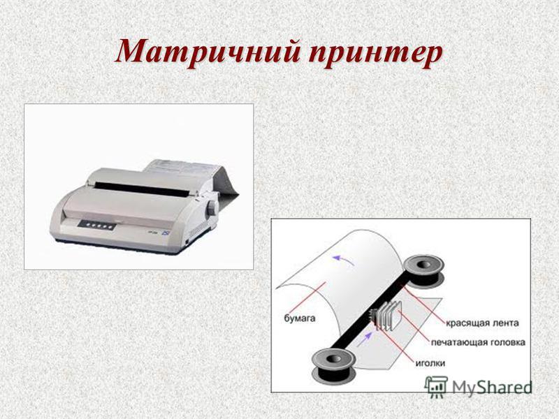 Матричний принтер