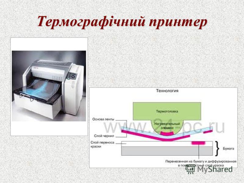 Термографічний принтер