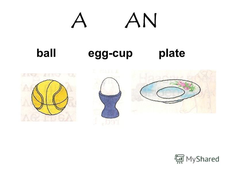 A AN ball egg-cup plate
