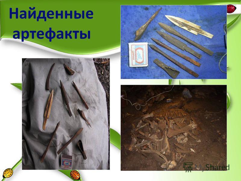 Найденные артефакты