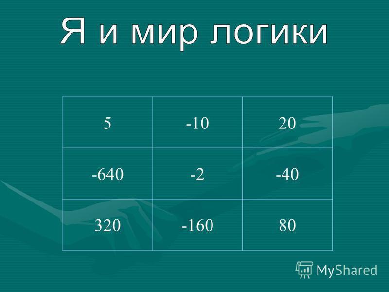 5-1020 -640-2-40 320-16080