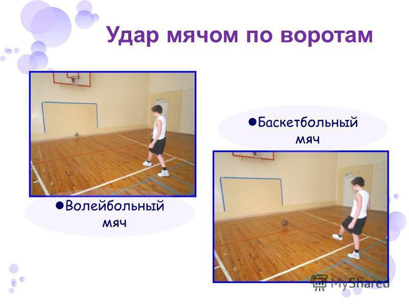 Удар мячом по воротам Волейбольный мяч Баскетбольный мяч