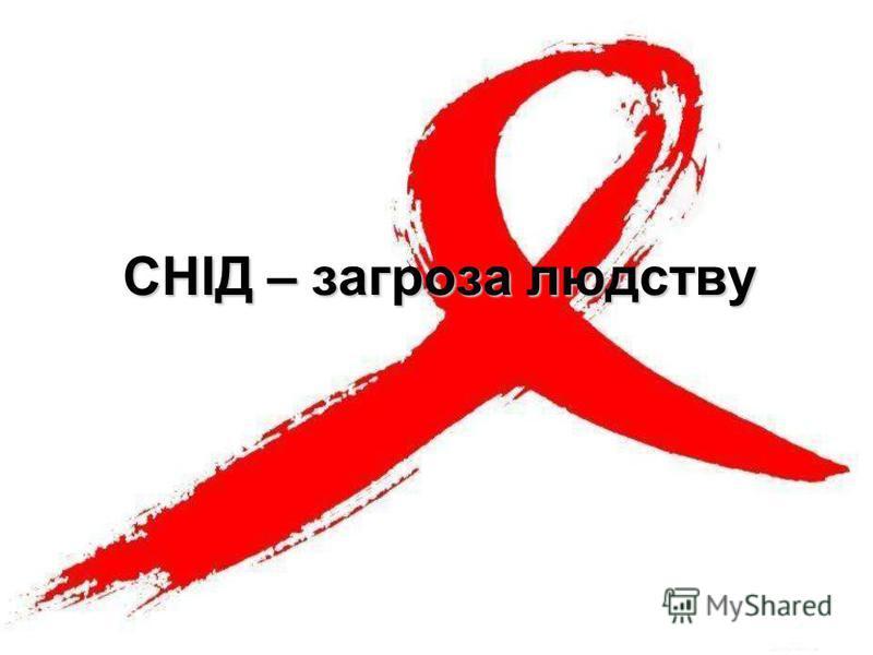 СНІД – загроза людству