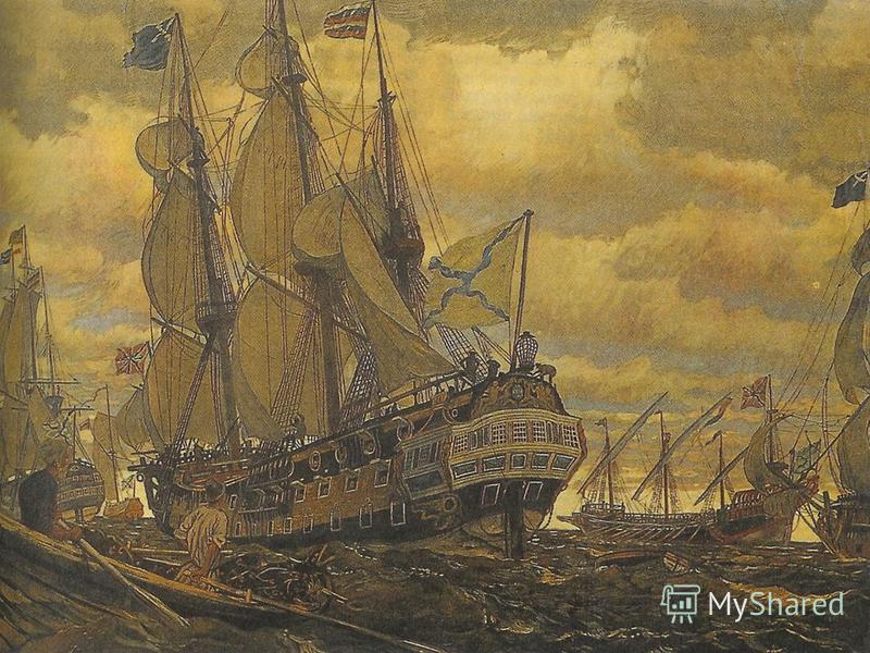 План крепости Кроншлот. 1703 год. Современный вид.