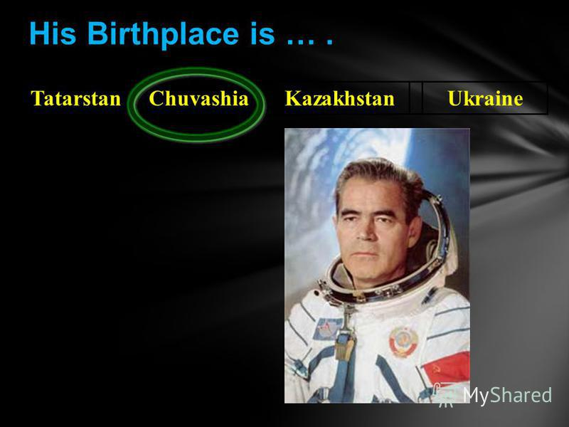 TatarstanChuvashiaKazakhstanUkraine His Birthplace is ….