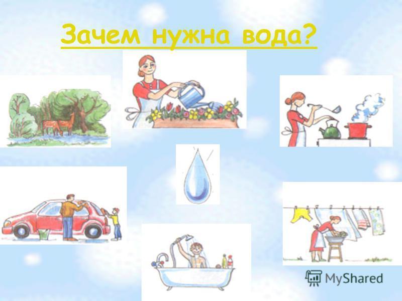 Зачем нужна вода?
