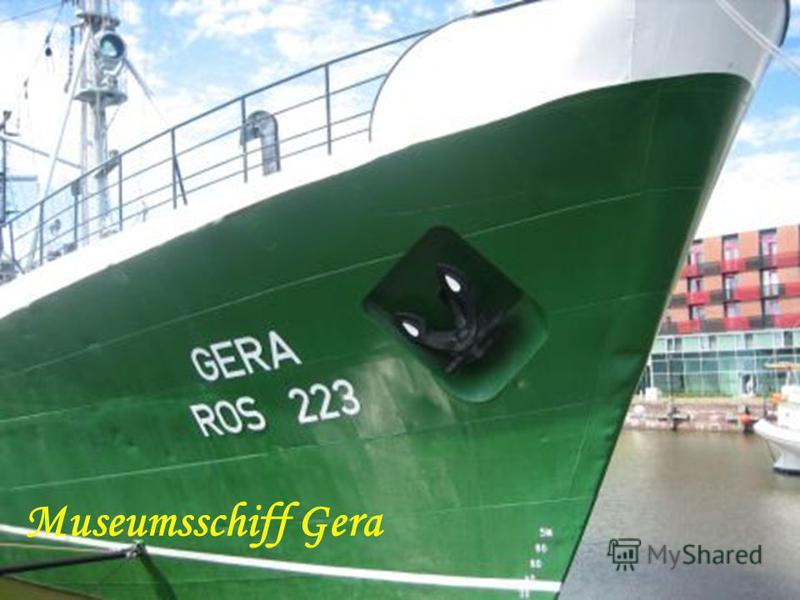 Museumsschiff Gera