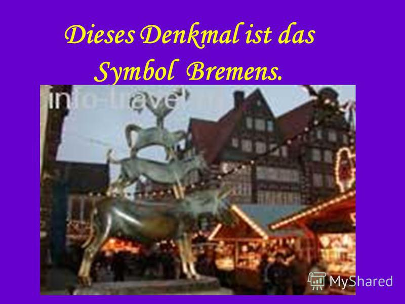 Dieses Denkmal ist das Symbol Bremens.