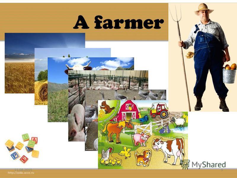 A farmer 11.08.20159