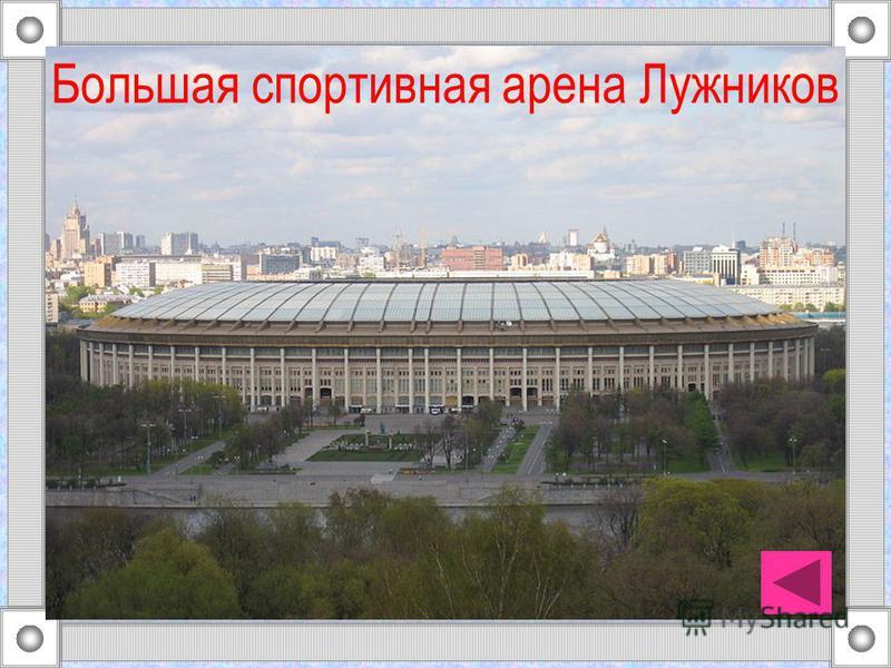 Большая спортивная арена Лужников