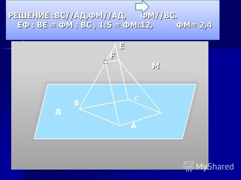4 этап. Защита домашних задач Провести линию пересечения плоскостей двух треугольников, если они имеют общую вершину и противоположные ей стороны треугольников параллельны. П.В. Стратилатов Доказать, что если две плоскости, пересекающиеся по прямой а