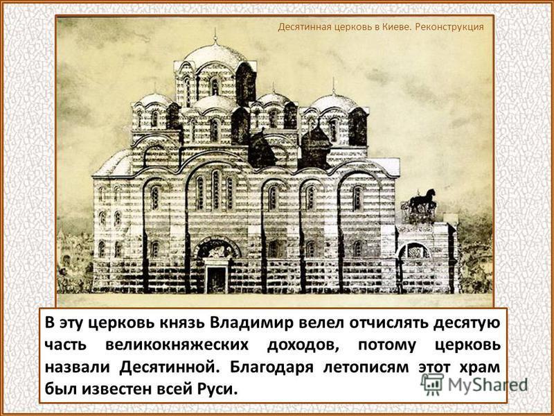 Храм был воздвигнут на месте убиения язычниками киевских христиан Феодора и сына его Иоанна. В. Топорков. Первые христиане-мученики в Киеве