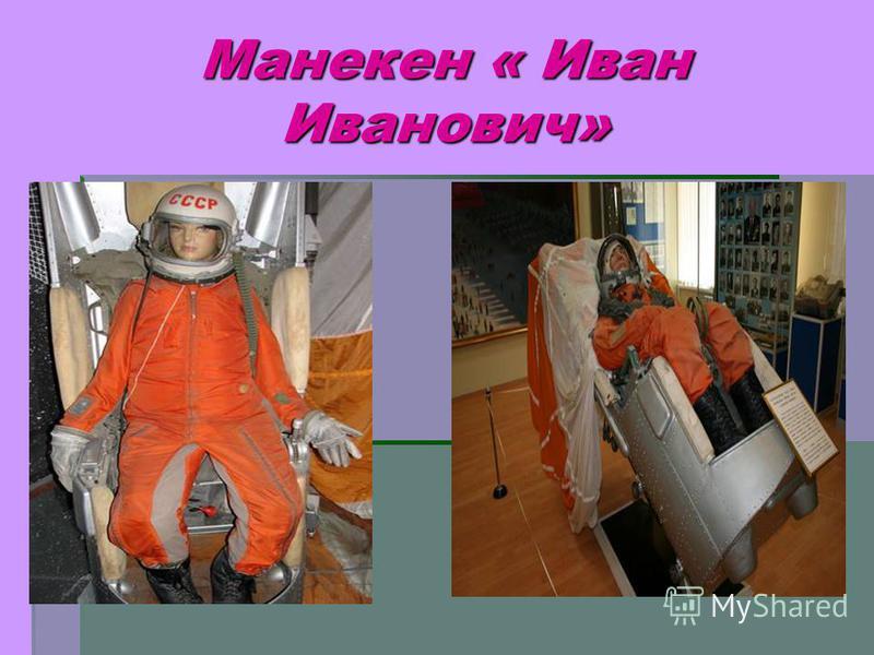 Манекен « Иван Иванович»