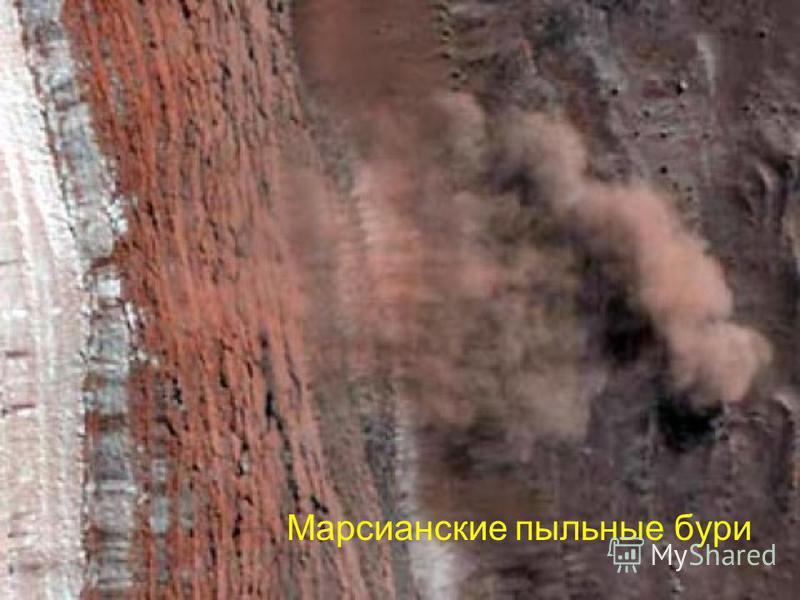 Марсианские пыльные бури