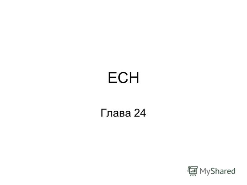 ЕСН Глава 24