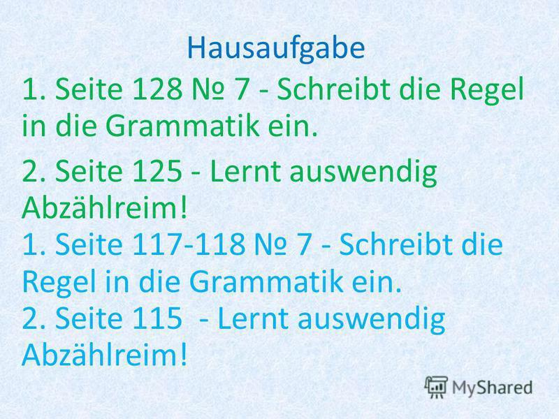 Grammatik Berufe - профессии der die Ед. ч. Суффикс: - er- in Мн. ч. Суффикс: - er - innen