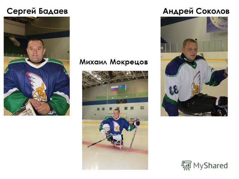 Сергей Бадаев Михаил Мокрецов Андрей Соколов