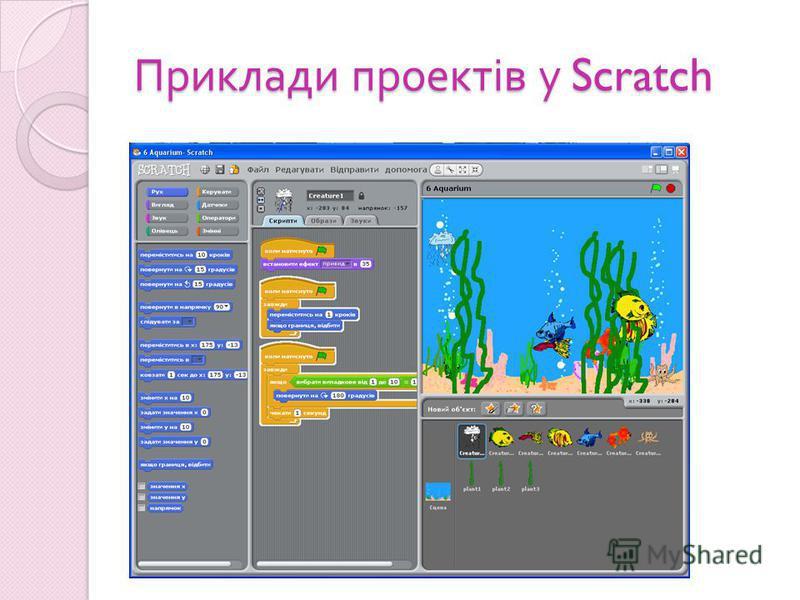 Приклади проектів у Scratch