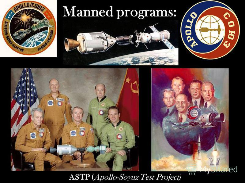 Manned programs: ASTP (Apollo-Soyuz Test Project)