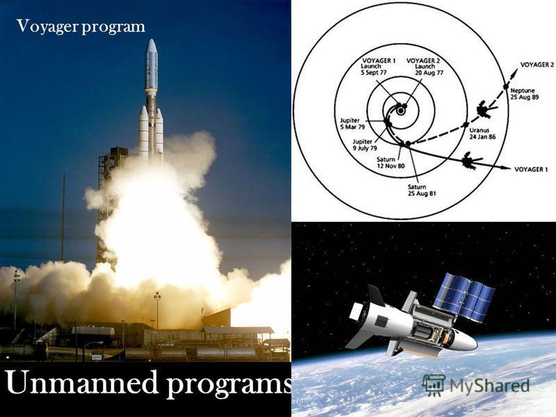 Unmanned programs : Voyager program