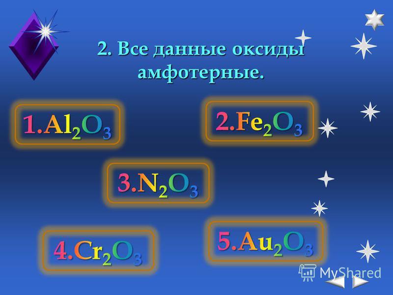 1. Все данные оксиды основные.