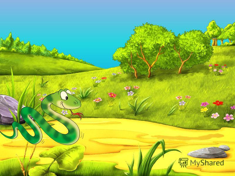 Цель: Изолированное произнесение звука [Ш] Ползёт змея, шипит змея, Но трогать нам её нельзя! Ш – Ш – Ш – Ш