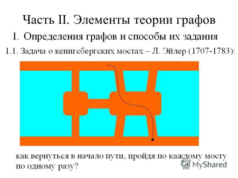 Часть II. Элементы теории графов