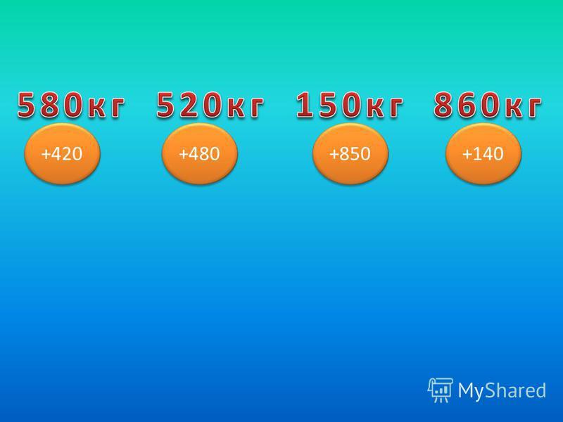 +420 +480 +850 +140