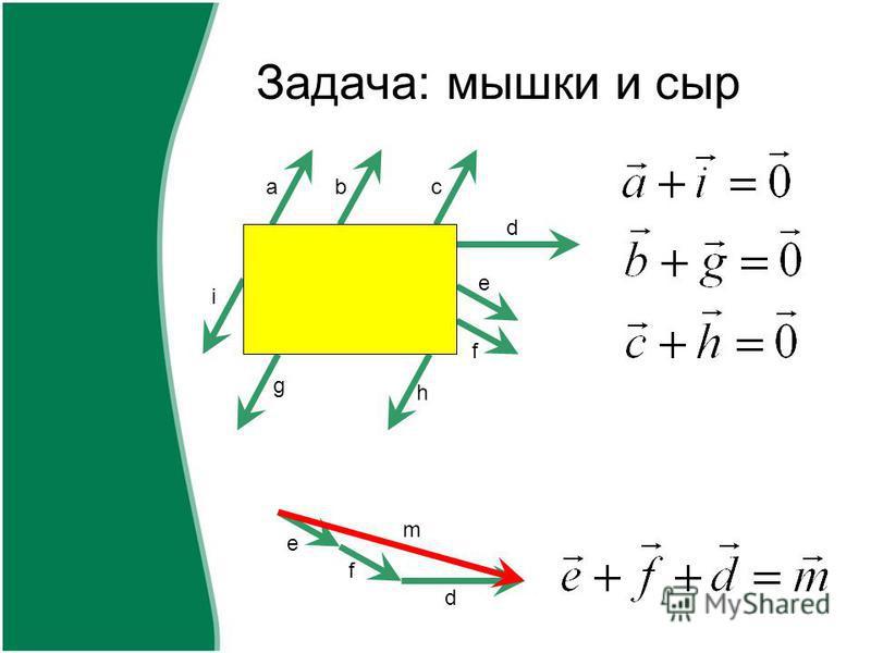Задача: мышки и сыр abc d e f h g i e f d m