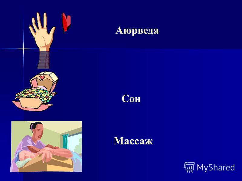 Аюрведа Сон Массаж