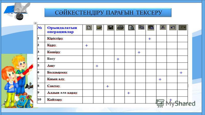 LOGO СӘЙКЕСТЕНДІРУ ПАРАҒЫН ТЕКСЕРУ