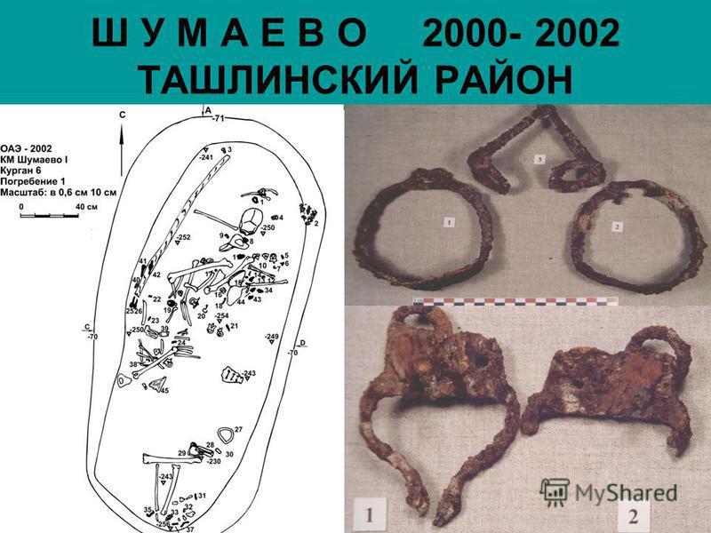 Ш У М А Е В О 2000- 2002 ТАШЛИНСКИЙ РАЙОН