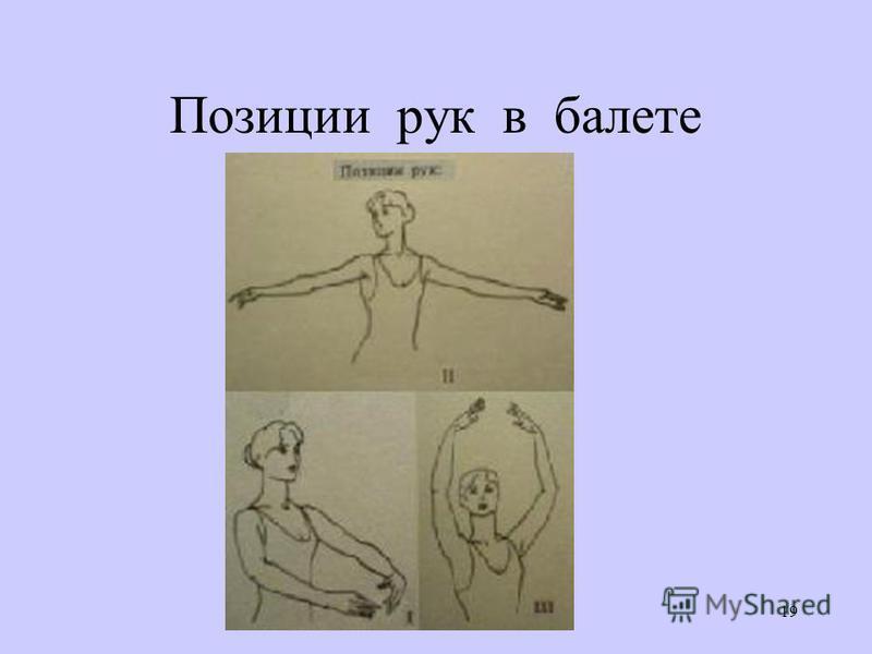 19 Позиции рук в балете