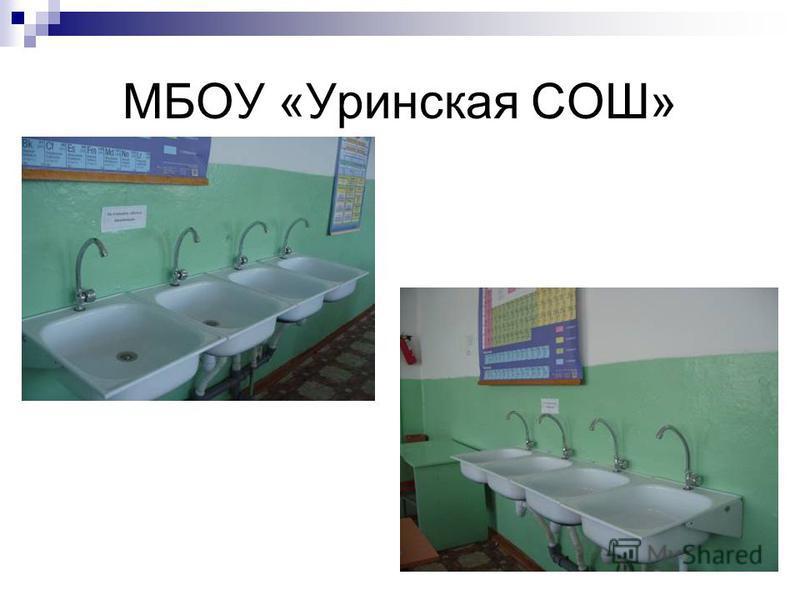 МБОУ «Уринская СОШ»